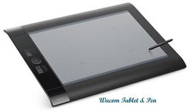 Wacom Tablet & Pen